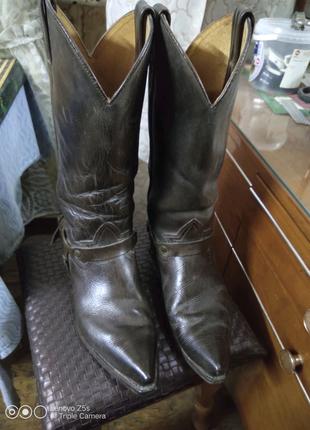 Мужские кавбойские сапоги