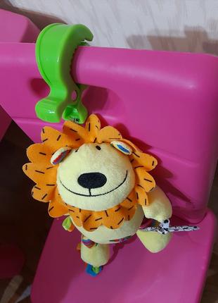 Игрушка-подвеска Biba Toys ЛЬВЕНОК