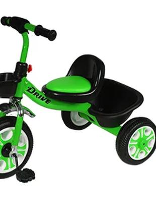 Велосипед трехколесный TILLY DRIVE T-318 салатовый