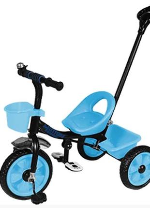 Велосипед трехколесный TILLY MOTION T-320 голубой