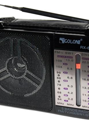 Радиоприемник GOLON - RX 607AC всеволновой