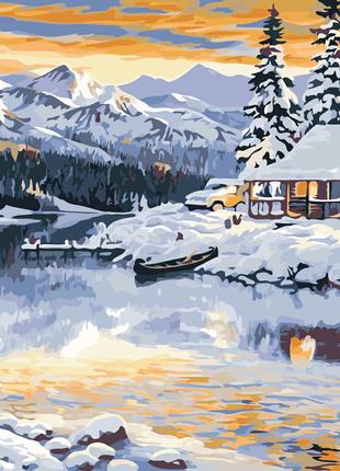 Картина по номерам Зимняя сказка