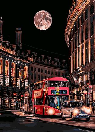 Картина по номерам Ночная жизнь Лондона