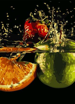 Картина по номерам Спелые фрукты