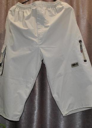 Шорты мужские бриджи sports l-xl коттон плотные мужские карманы