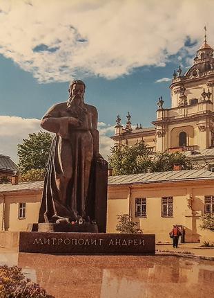 Календарик карманный Львов, собор Св. Юра 20-21гг.