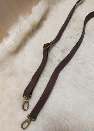 Аксессуар кожаная длинная ручка на сумку