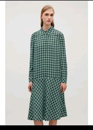 COS, миди платье , UK34  (XS)