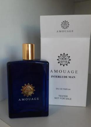 Amouage interlude for man парфюмированная вода 100 ml, тестер