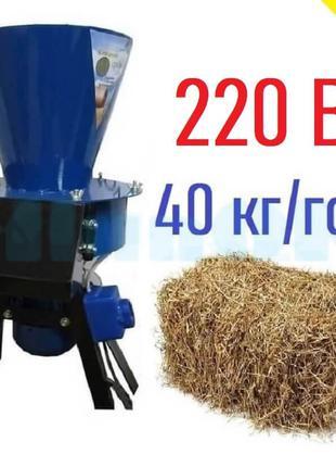 Сенорезка-соломорезка СНР-30 (220 В,1,1 кВт)
