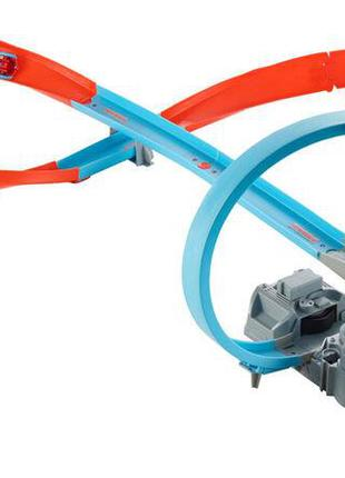 Трек Hot Wheels з петлею, моторизований для швидкості