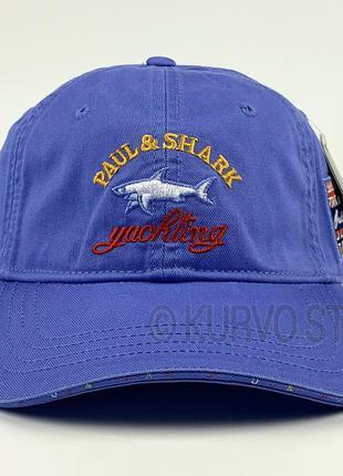 Мужская кепка (бейсболка) paul shark, цвет голубой