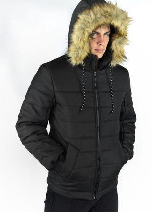 Три Варианта Зимняя Теплая Куртка Аляска Мужская Парка Мужской...