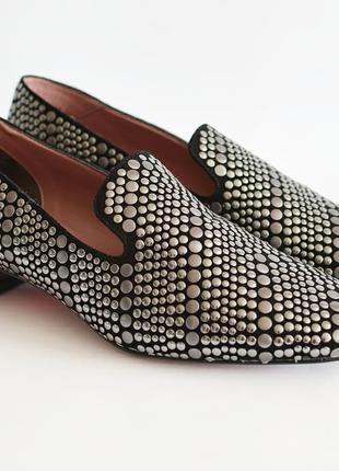 Замшевые туфли-лоферы ALBANO Италия оригинал 37 новые