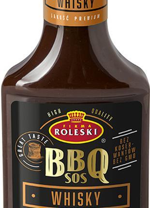 Roleski соус барбекю c виски 365г