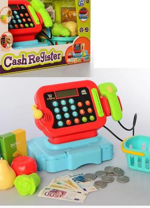 Детский игровой  СУПЕРМАРКЕТ-КАССА LT8801-5C