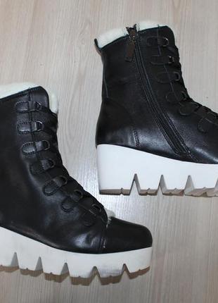 Кожаные ботинки josef seibel, 39 размер