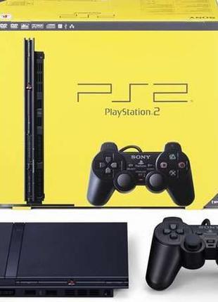 Игровая приставка Sony PlayStation 2 (PS2) Сони плейстешен 2