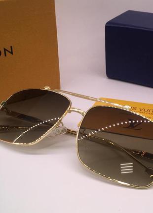 Мужские солнцезащитные очки louis vuitton полная комплектация
