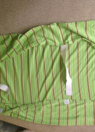Простыня на липучках и резинке в детскую кроватку новая
