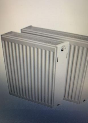 Сталевий радіатор ROMSTAL, 33x300x500 мм, (800 Вт), бокове під...