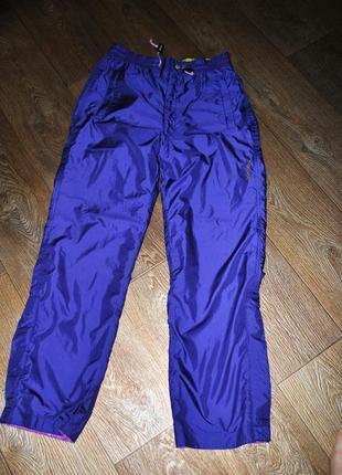 Штаны hong kong спортивные новые фиолетовые 46 48 m l