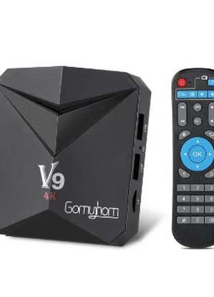 TV BOX, приставка V9, S912 8 ядер, 3Gb 32Gb, 2GHz, Android 7.1.2