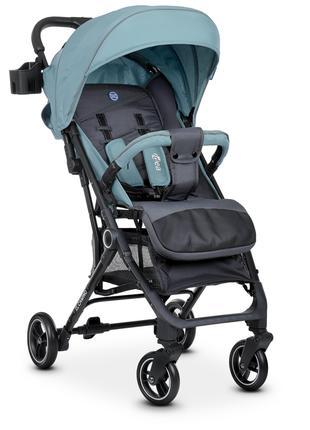 Прогулочная детская коляска-книжка ME 1039 IDEA ICE BLUE