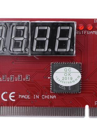 POST-карта PCI для тестирования компьютеров 4-х разрядная