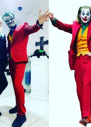 Костюм джокера красный 2021 взрослый костюм на новый год