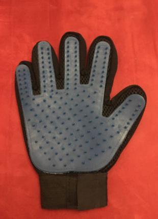 Перчатка для снятия шерсти с животных