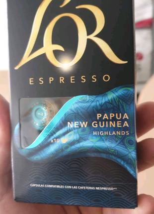 Капсули Lor формату Nespresso.