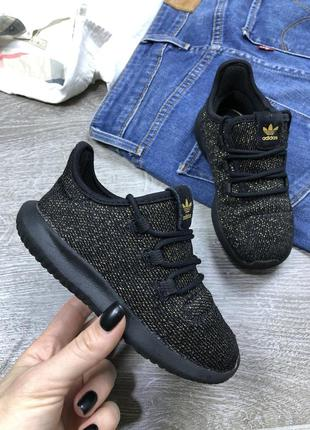 Блестящие кроссовки adidas tubular shadow