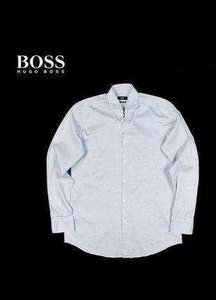 Рубашка boss hugo boss slim fit - 41-16
