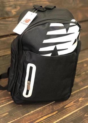 Спортивный рюкзак new balance, цвет черный