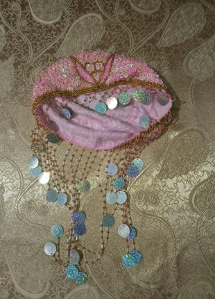 Шапочка-бандана для восточного костюма, карнавала, праздника