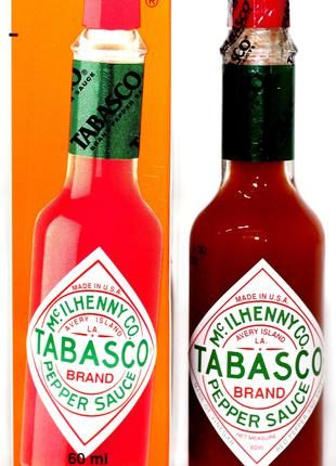 Соус Табаско Tabasco Pepper Sauce ORIGINAL RED - 60 мл.