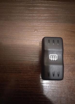 Кнопка обогрева заднего стекла Дача Логан 4 контактов Оригинал