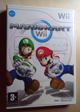Wii Mario Kart диск лицензия PAL