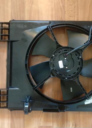 Диффузор вентилятор в сборе на Авео Т250 Вида после 2010 г.в