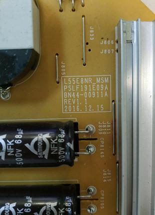 Блок питания BN44-00911A, L55E8NR_MSM, PSLF191E09A SAMSUNG