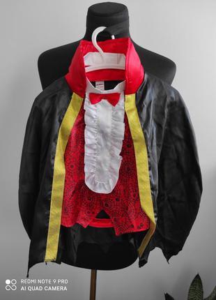 Карнавальный, костюм на хеллоуин дракула, вампирчик, вампир