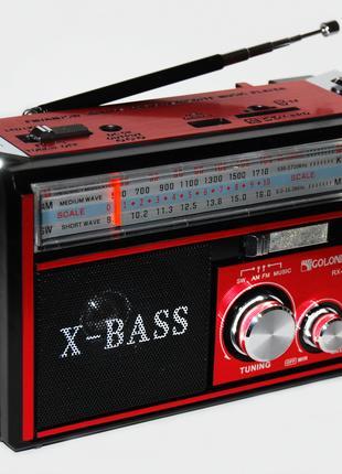 Радиоприёмник с фонариком МР 3 GOLON RX-381