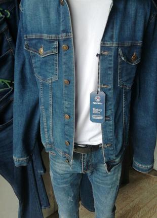 Продам мужскую джинсовую куртку