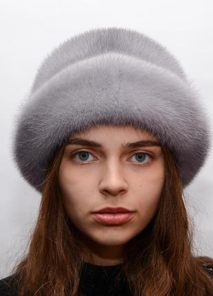 Женская зимняя норковая шляпа