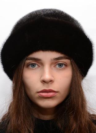 Норковая женская шляпа