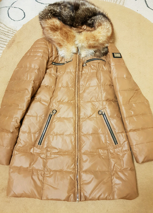 Куртка зимняя. Пух.