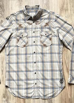 Мужская рубашка с длинным рукавом diesel