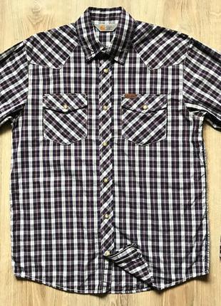 Мужская рубашка с длинным рукавом carhartt