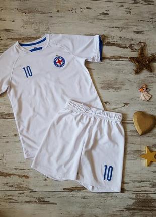 Костюм футбольный шорты футболка